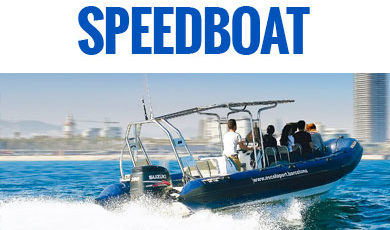 Speedboat Barcelone · Nautica Port