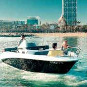 Sportboat · Enjoy Barcelona from the sea · Nautica-Port Barcelona