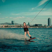 Wakeboard in Port Olímpic · Barcelona